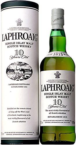 シングルモルト ウイスキー ラフロイグ 10年