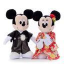 ミッキー&ミニー ウエディングドール