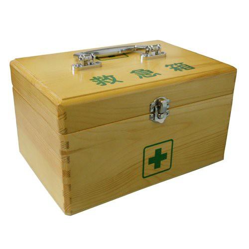 リーダー木製救急箱