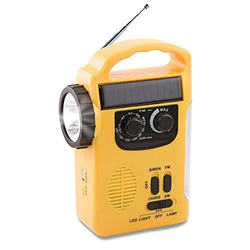 ラジオライト 手回し発電